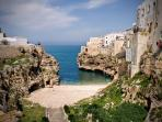 You are sure to love Polignano a Mare as much as travel writer does!  Just 45 minutes away.