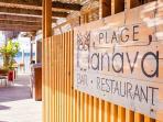 restaurants au bord de plage, Manava, gastronomie française