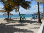 White sand privacy, Taino Beach,