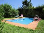 pool, calmness, sun