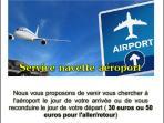 Service navette aéroport sur demande