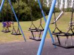 Children's recreation ground nearby