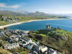 Criccieth 'The pearl of Wales'.