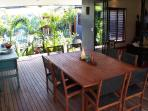 Baranbali Pavilions - Outdoor Dining