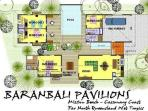Baranbali Pavilions - Floor Plan