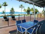 Bella's Beach House-View from Verandah