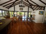 Bedarra Beach House-Entry to Kitchen