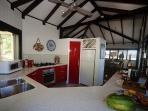 Bedarra Beach House-Kitchen to Interior