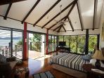 Bedarra Beach House-Main Bedroom to Dunk Island