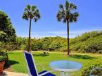 Beach Manor 110 Patio Gibson Beach Rentals
