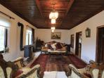 Traditionally decorated Lounge