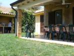 Patio terrazza sul giardino ad uso esclusivo
