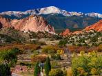 Garden of the Gods. Minutes from home. **Disclaimer** This is not the view from home.