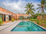 Outdoor Patio & Pool Area
