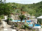 Pool, dinning & chill area of the main Villa.
