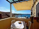 Best location in Supetar, Apartment 1 - Terrace