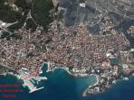 Best location in Supetar, Airview location