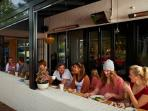 Alfreso dining in Margaret River town