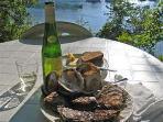 Les célèbres huîtres du Bélon à 1,5km de la résidence