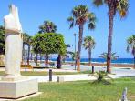 Limassol Promenade and sculpture park - near Marina