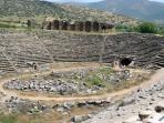 Sit at the Stadium at Aprhrodisias and imagine the spectacular ancient chariot races taking place.