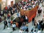 Festa Maria SS di Tagliavia a Maggio - Carro dell'abbondanza