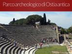 Ostia Antica, anfiteatro della Roma antica, V bc