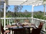 You could enjoy your breaky on the veranda if you wish