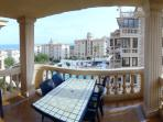 terrace from the livingroom, 12sqm, seaviews