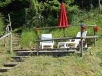 Une terrasse en orée de bois...