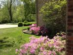 Beautiful Gardens surround Home and Property