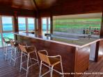 Domaine des Fonds blancs / Villa Isabelle : the Bamboo Bar...only for you!
