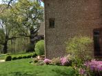 Azalia Gardens around the Luxury Home