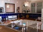 Kitchen on Upper Level.