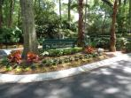 St. Andrews villa in Palmetto Dunes!  Bicycle racks throughout the area!