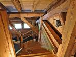 escalier menant a la l'etage