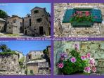 Details inside the old fort, the most romantic part of Kastel Sucurac