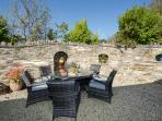 Private Terrace Walled Garden