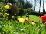 le printemps -Castel d'Orquevaux