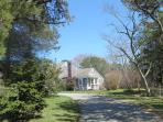 Driveway to cottage for loading and unloading - 93 Neel Road Harwich Port Cape Cod New England Vacation Rentals