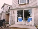 With gas grill - 109 Misty Meadow Lane #1 Chatham Cape Cod New England Vacation Rentals