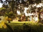 La Maison de Maître côté parc.