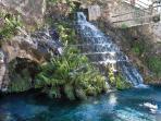 Cascada del Nacimiento. Vélez