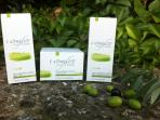 Natural cosmetics produced on site