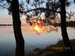 beautiful Brittany sunset