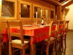 table pour 8 personnes
