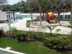 Lorena Ochoa pool complex - ideal for kids with paddling area and games area