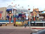 Enjoy the fun and excitement of very near Pleasure Pier