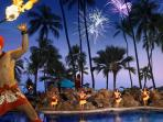 Every Friday night at Ilikai Hotel Polynesian Show followed by Fireworks