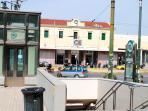 80m - Metro Station Larissa (Stasmos Larisis)